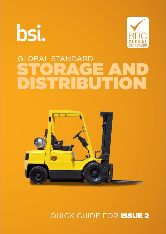 Brc Global Standard For Storage And Distribution Bsi