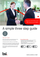 How to promote your BSI Assurance Mark
