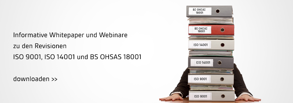 ISO 9001, ISO 14001, OHSAS 18001 Revision