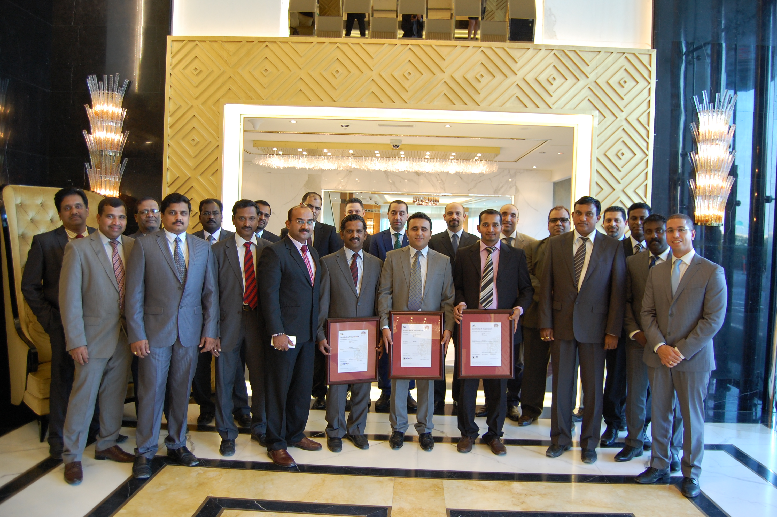 Luxury Facilities Management Company Achieves Certification To Iso