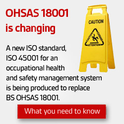 Read more about OHSAS 18001 revision