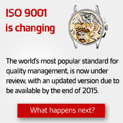 Read more about ISO 9001 change