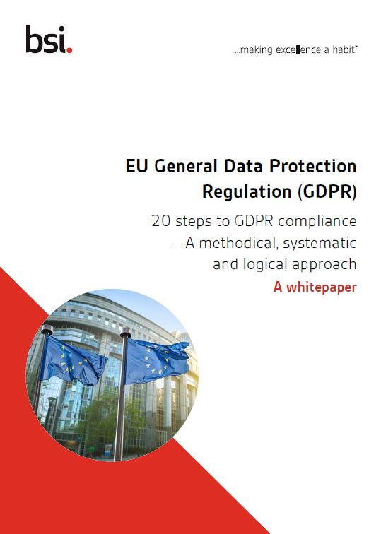 20 Steps to GDPR compliance