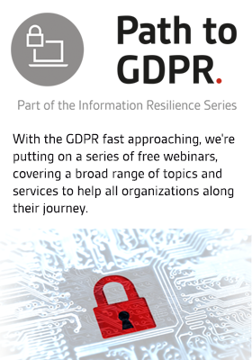 Path to GDPR - Webinar Series