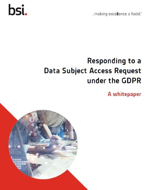 Data subject access request