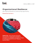 Organizational Resilience whitepaper
