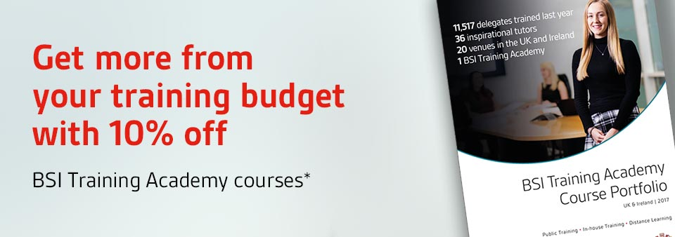 10% off Training Academy Courses