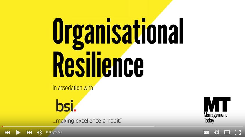 Organizational Resilience Videos
