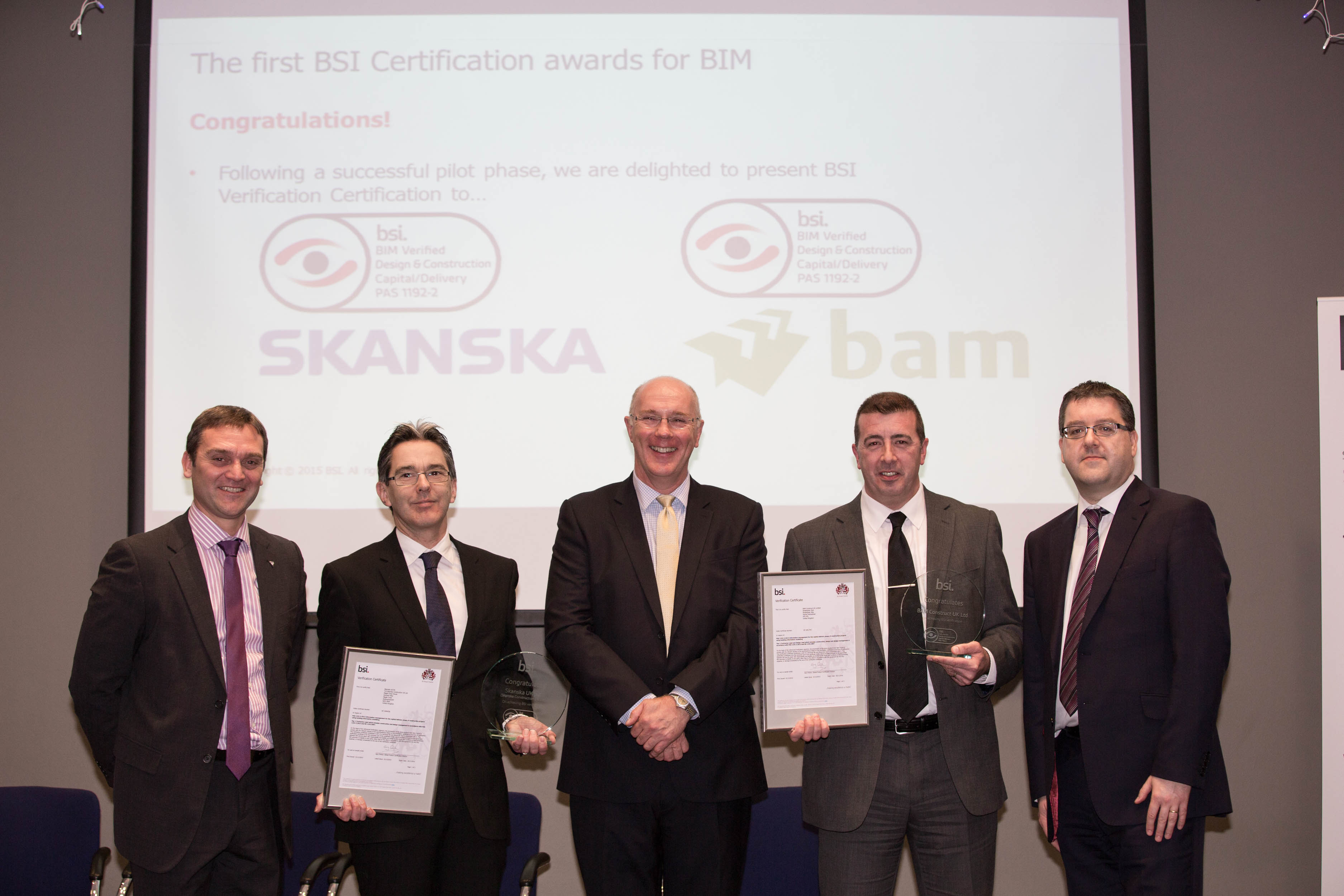 BAM & Skanska - BIM Verification