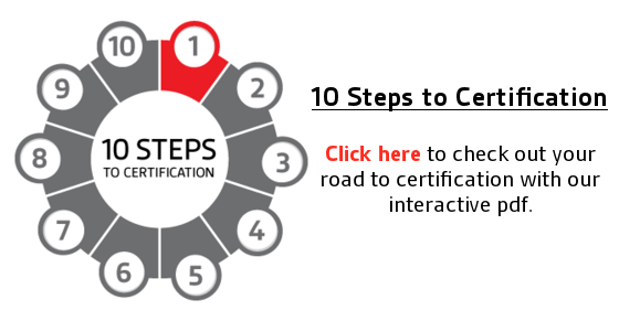 10 Steps to Certification