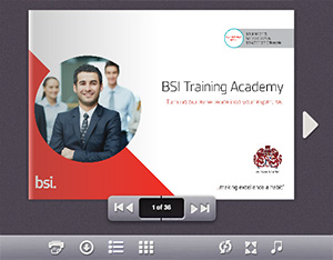 Digital training Catalogue - BSI India