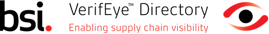BSI VerifEye Directory - Enabling supply chain visibility