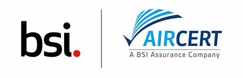 Joint Logo of BSI and AirCert