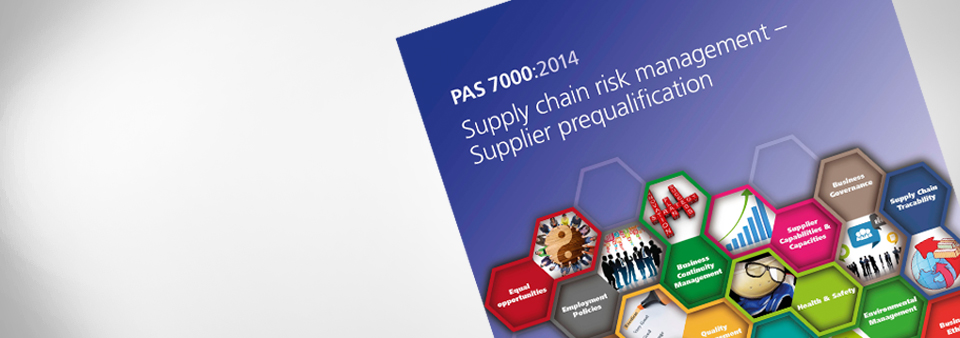 PAS 7000 Supply Chain Risk Management