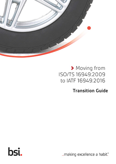 IATF 16949:2016 Transition Guide