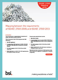 ISO 27001:2013 Mapping Guide