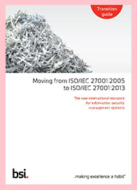 ISO 27001:2013 Transition Guide