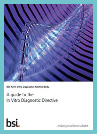 A guide to the In Vitro Diagnostic Directive