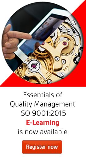 ISO 9001:2015 elearning banner