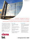 ISO 22301 Ciena case study cover
