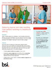 Patient Handling case study cover