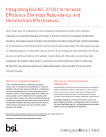 BSI whitepaper integrating ISO IEC 27001cover