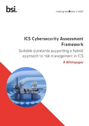 ICS Cybersecurity Assessment Framework paper