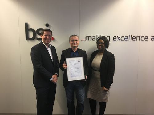 Bluebee receives NEN 75010 certificate from BSI