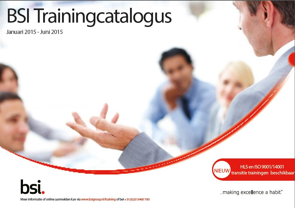 Trainingcatalogus 2015