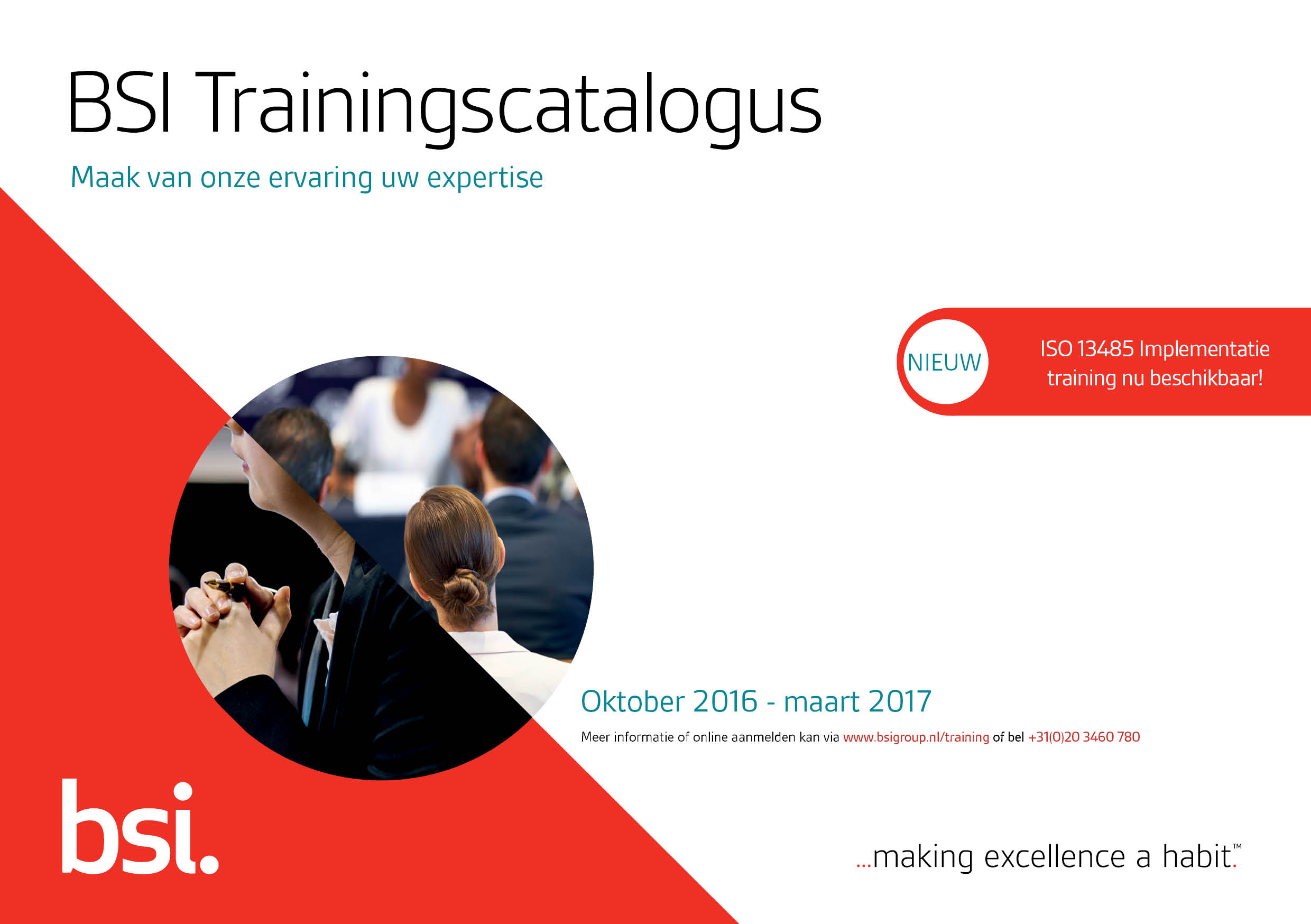 Trainingscatalogus 2016