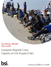 European Migrant Crisis Report cover