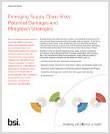 Emerging Supply Chain Risks Whitepaper Front Cover