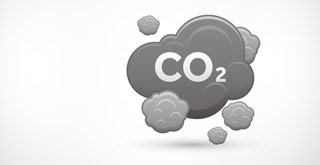 Greenhouse gas reduction-CO2 cloud