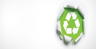 Waste management-recycle icon