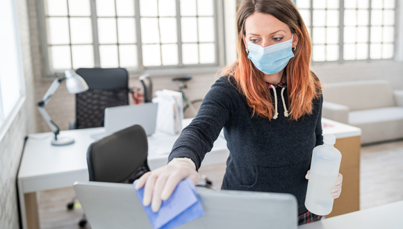 office hygiene cleaning