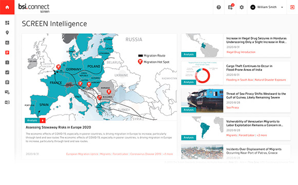BSI Connect Screen Intelligence