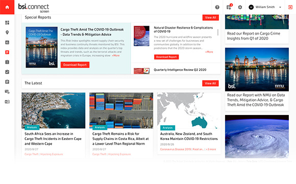 BSI Connect Screen news