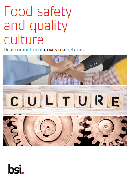 Food and Safety Culture whitepaper cover