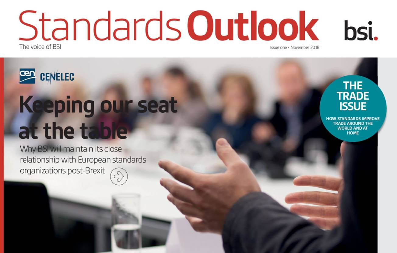 Standards Outlook - Issue one cover