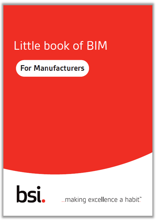 Download your Little Book of BIM for Manufacturers