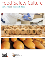 Food safety and quality culture