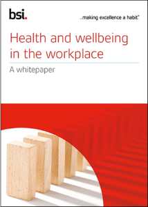 workplace wellbeing whitepaper
