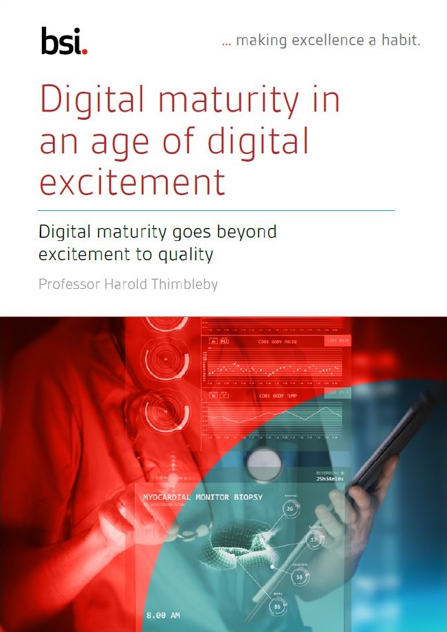 Digital maturity in an age of digital excitement