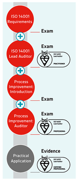 ISO 14001 Lead Auditor pathway