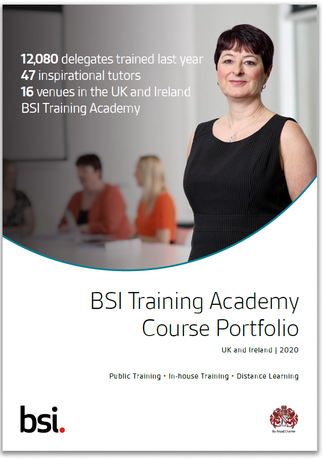BSI Training Catalogue 2020