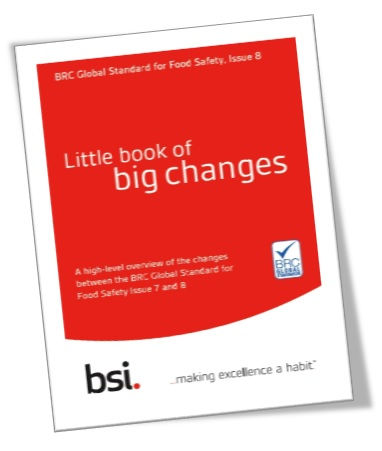 BRCGS Issue 7-8 Little book of big changes