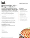 ISO 22000 brochure cover