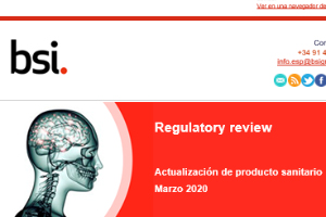 newsletter productos sanitarios
