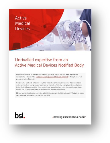 Active Devices brochure