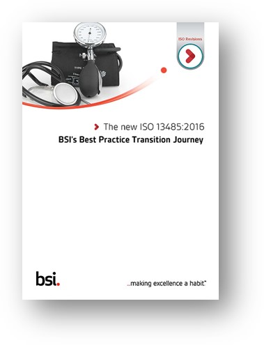 ISO 13485 Best Practice Transition Journey